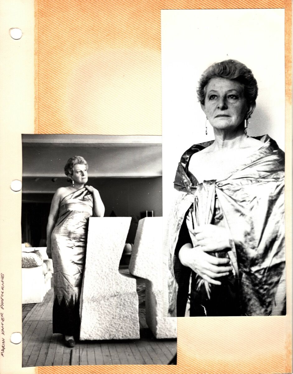 Scan from Hanna Eshel's scrapbook. Courtesy of Patrick Parrish Gallery.