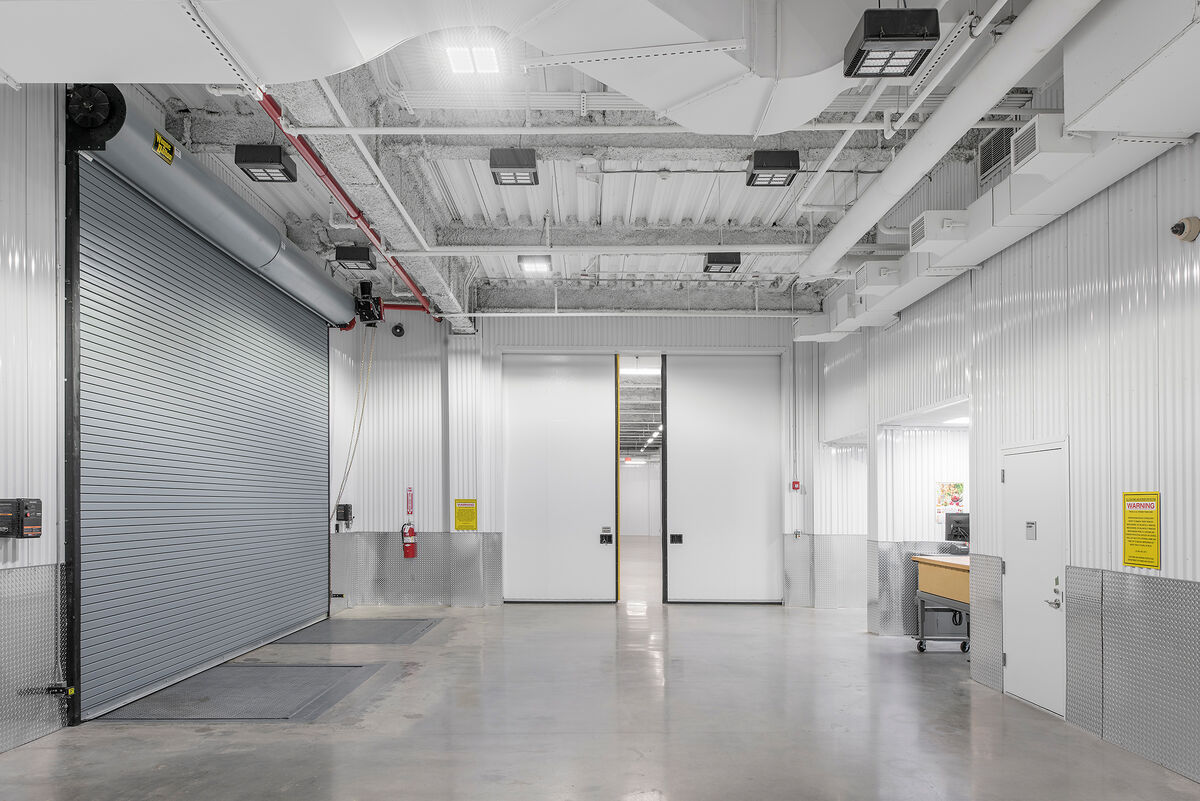A view inside the Arcis art storage facility in Harlem, New York. Photo by Zoe Wetherall for Artsy.