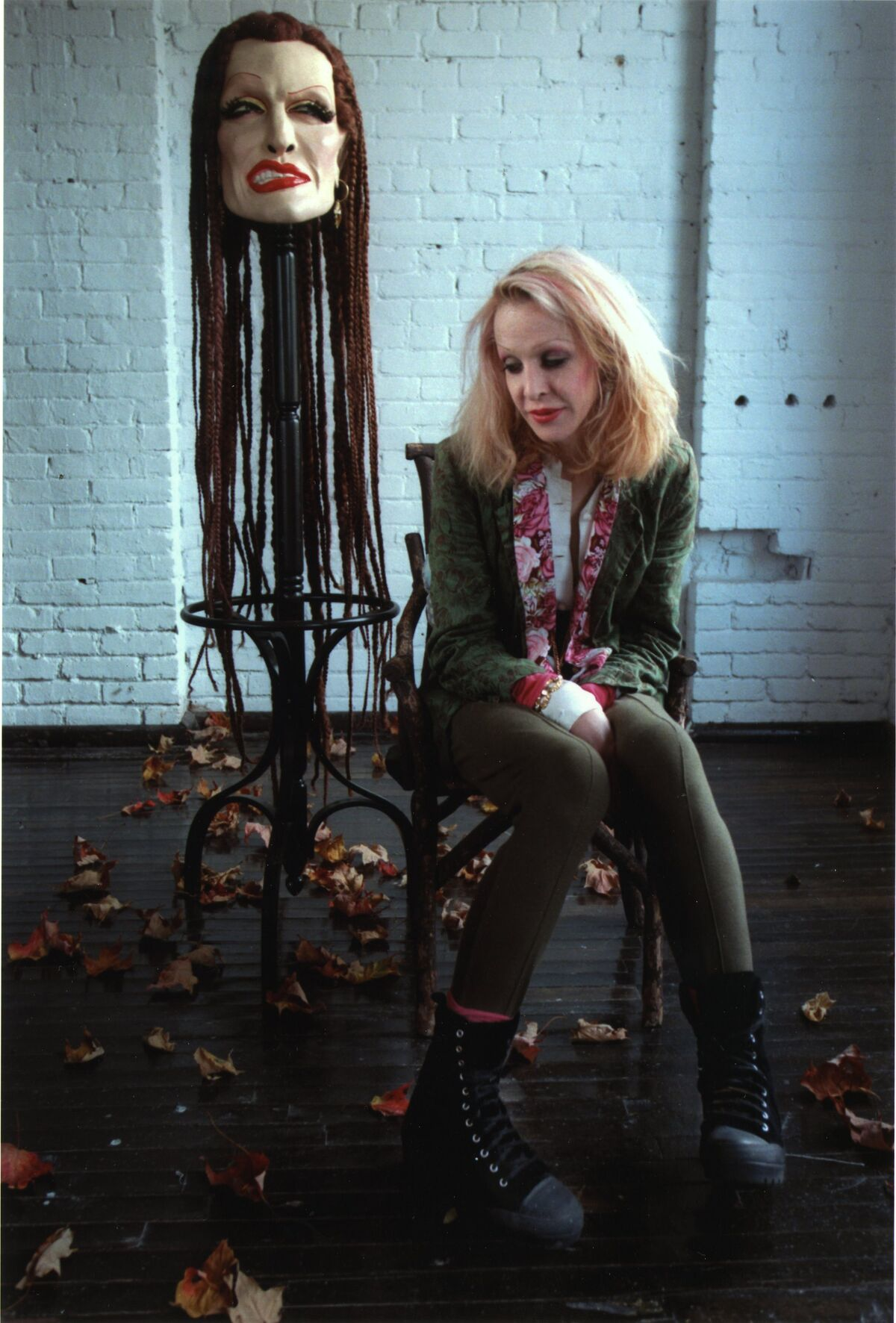 Portrait of Greer Lankton. Photo by Annie O'Neil. Courtesy of the Mattress Factory.