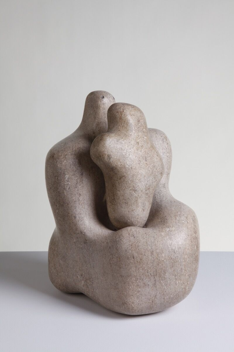 Barbara Hepworth, Mother and Child , 1934. Photography by Jerry Hardman-Jones. © Bowness. Courtesy of the Hepworth Wakefield.