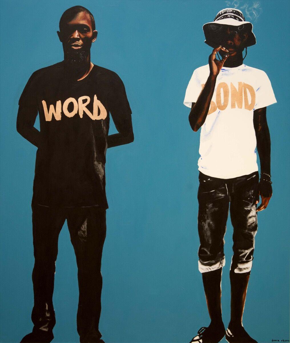 Dawn Okoro, Word is Bond, 2018. Courtesy of the artist.