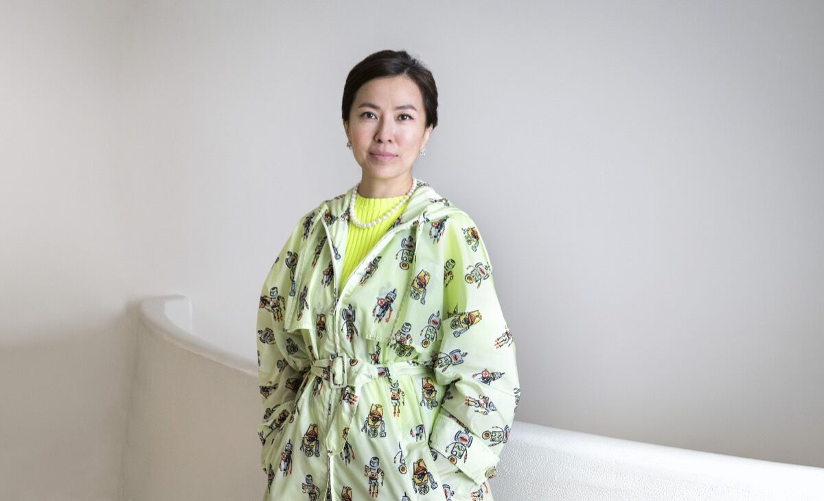 Portrait of Anicka Yi. Photo by Deavid Heald. Courtesy of the Solomon R. Guggenheim Museum.