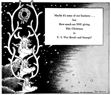 """Letters to the Art System: Dr. Seuss Satirized """"America First ..."""