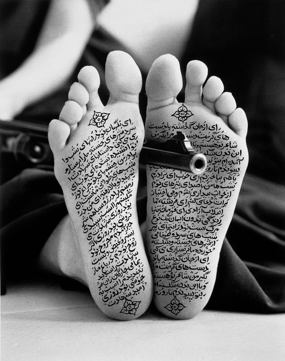 Shirin Neshat, Allegiance with Wakefulness, 1994. © Shirin Neshat. Photo by Cynthia Preston. Courtesy of the artist and Gladstone Gallery, New York and Brussels.