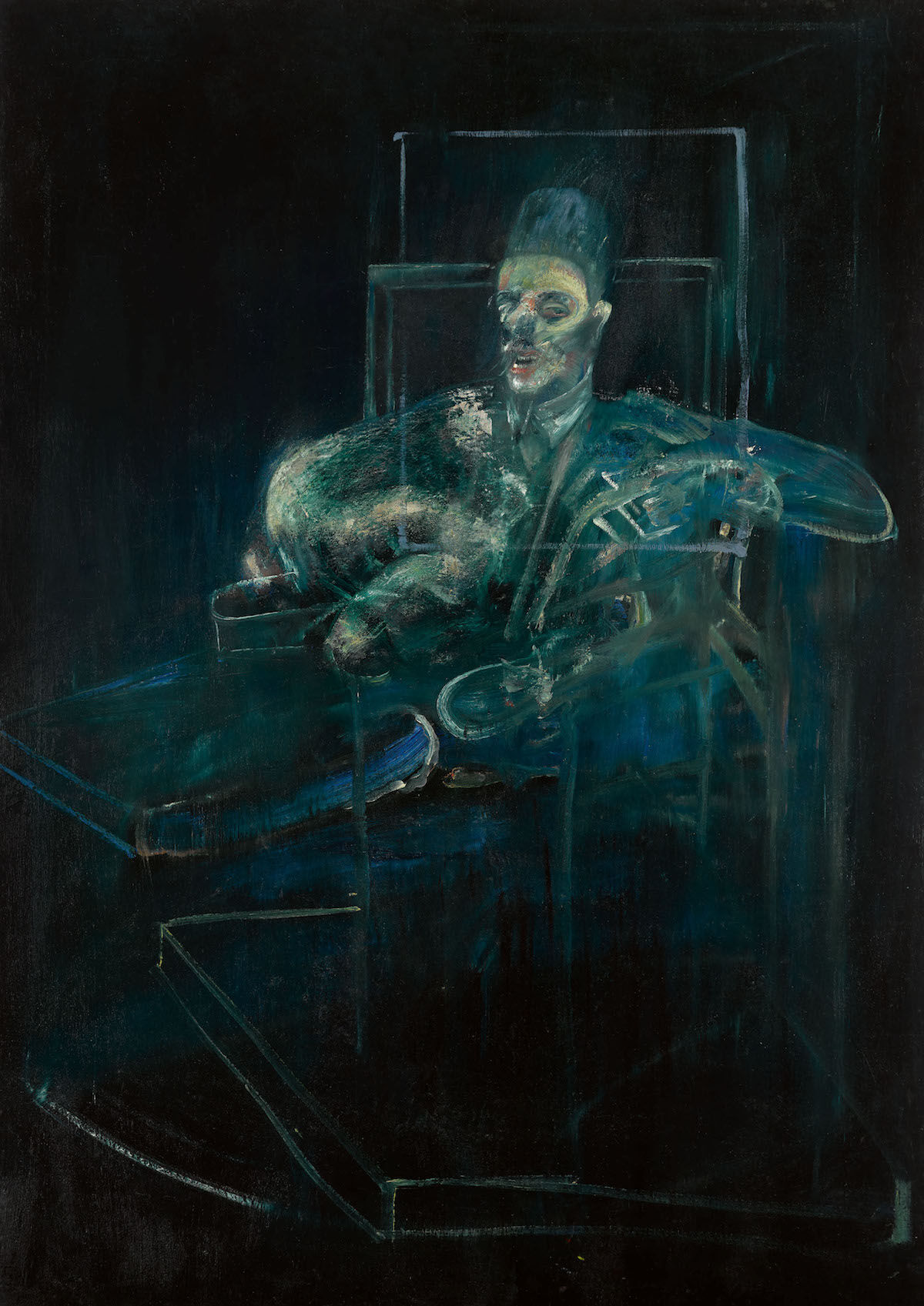 Francis Bacon, Pope, ca. 1958. Est. $6 million–8 million. Courtesy Sotheby's.