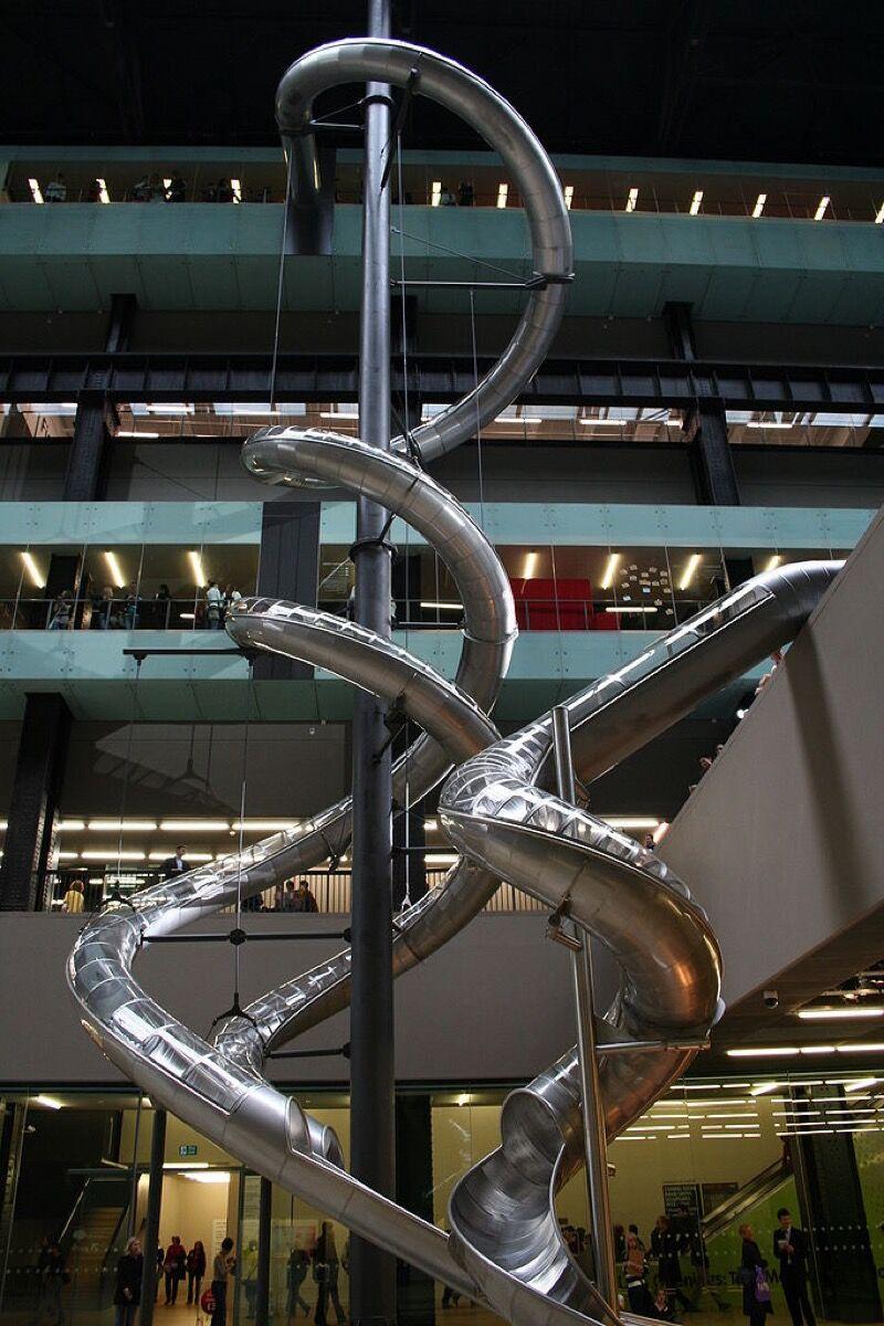 Carsten Höller, Test Site at Tate's Turbine Hall. Photo via Wikimedia Commons.