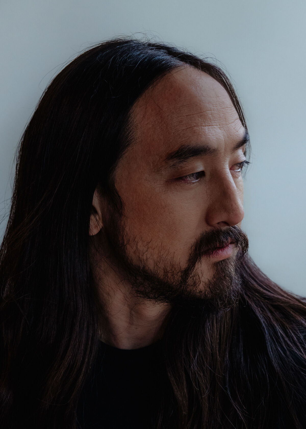 Portrait of Steve Aoki by Brian Guido for Artsy.