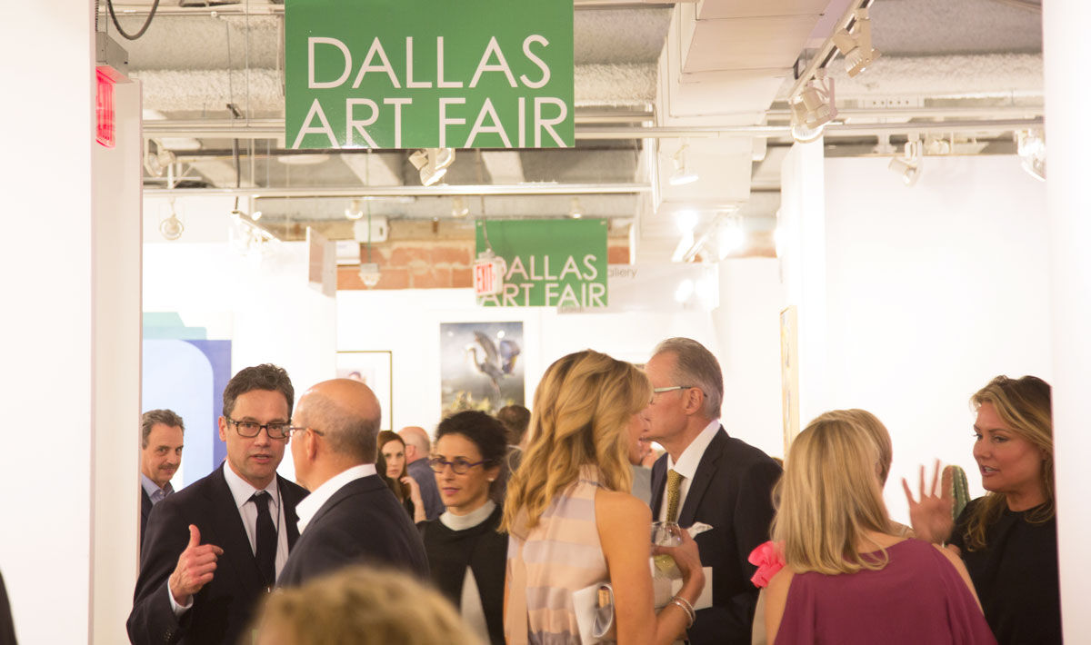 Photo courtesy of Dallas Art Fair.