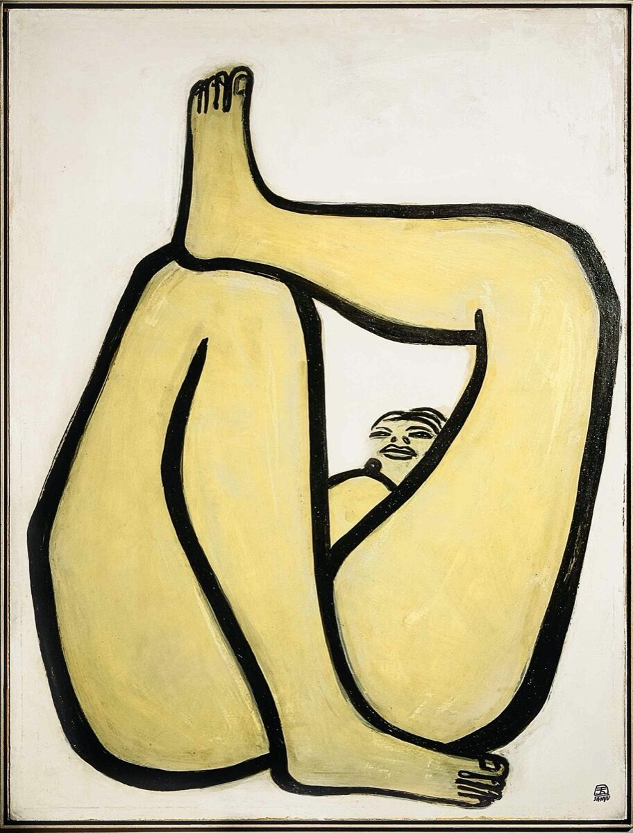 Sanyu, Nu, 1945. Courtesy of Sotheby's.