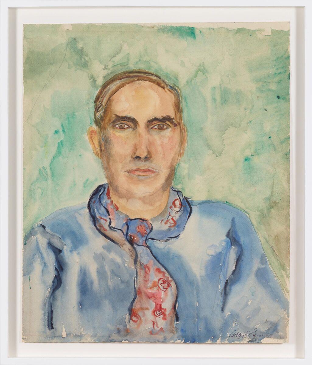 Betty Parsons, Stuart Davis, 1933. Courtesy of Alexander Gray Associates. © Betty Parsons Foundation.