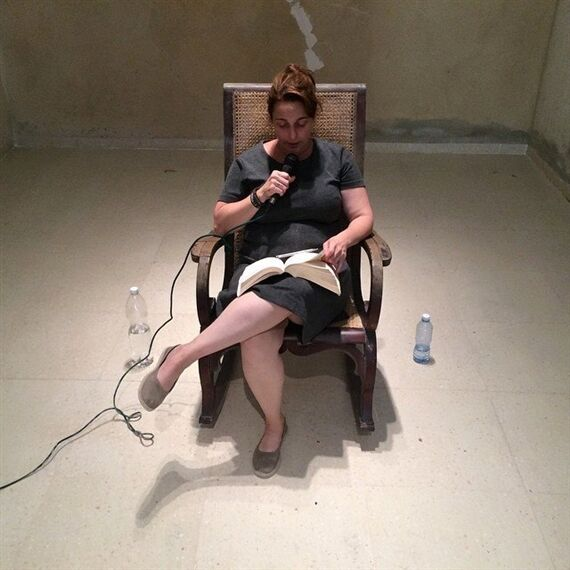 Tania Bruguera,Opening Session of the foundational process of theHannahArendt International Institute ofArtivism,May 20–24, 2015.Courtesy of Studio Bruguera and YoTambienExijoPlatform; photo by Pablo León de la Barra.