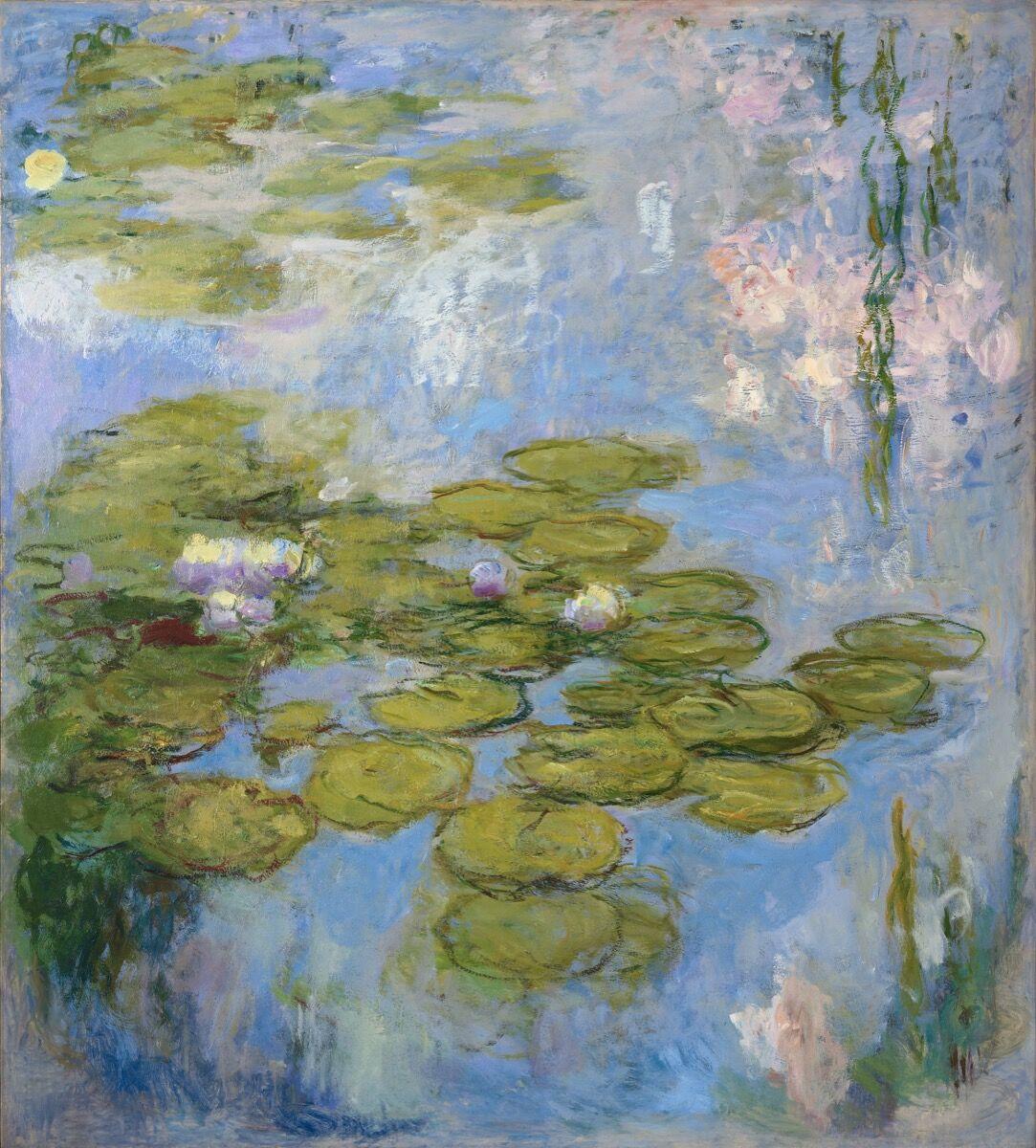 Claude Monet, Nymphéas, 1916-19. Fondation Beyeler.