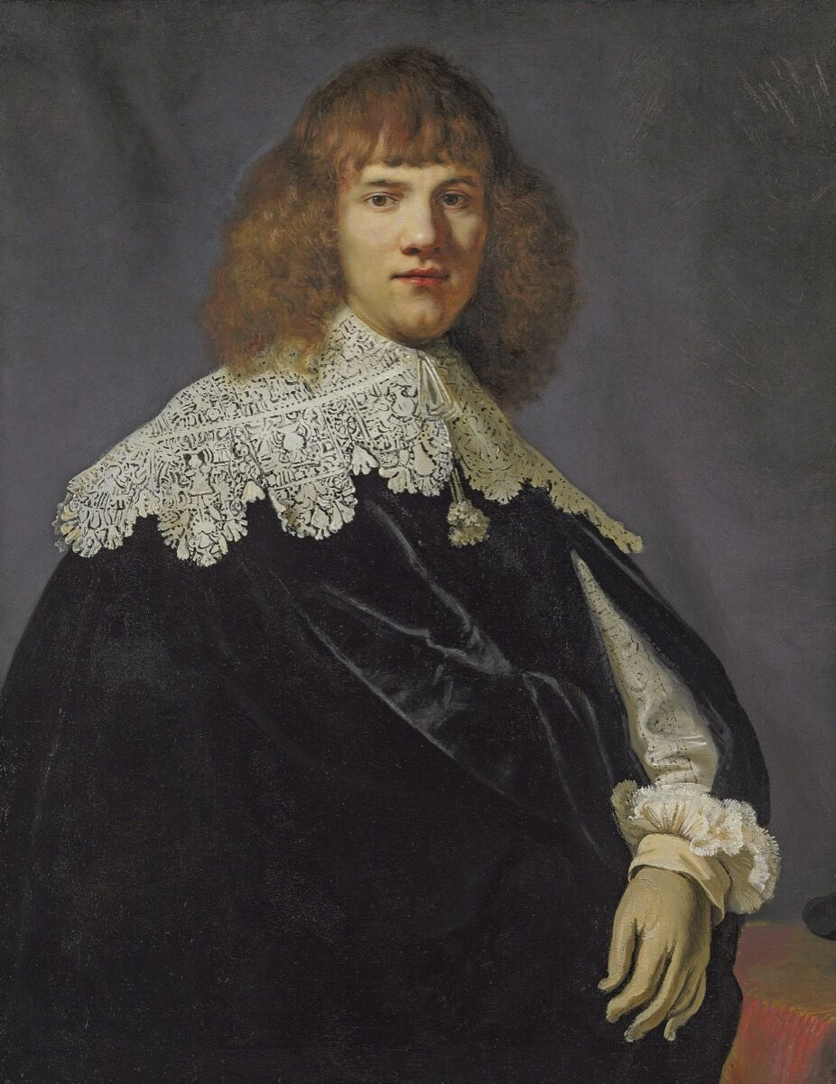 Rembrandt, Portrait of a Young Gentleman, circa 1634. Photo via Wikimedia Commons.