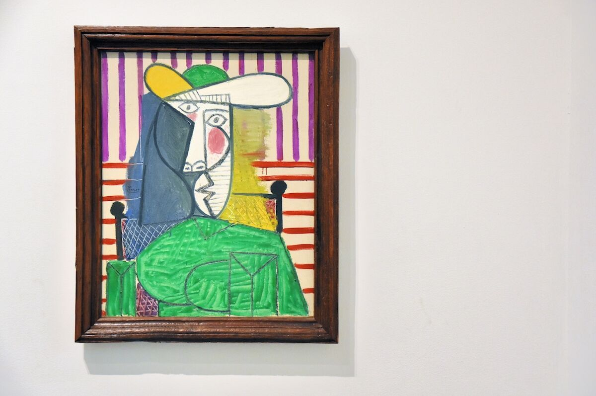 Pablo Picasso, Bust of a Woman, 1944, on view at Tate Modern. Photo by jpellgen, via Flickr.