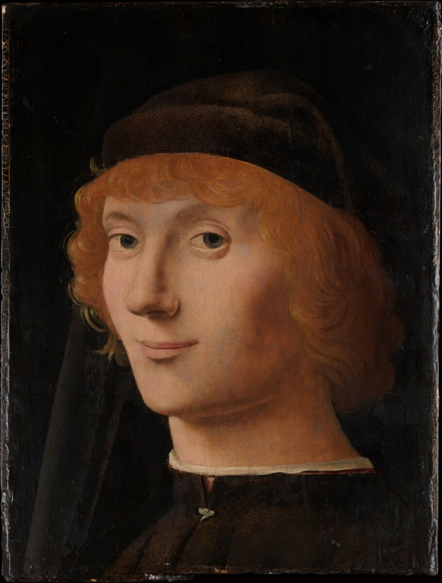 Antonello da Messina, Portrait of a Young Man, ca. 1470. Courtesy of the Metropolitan Museum of Art.