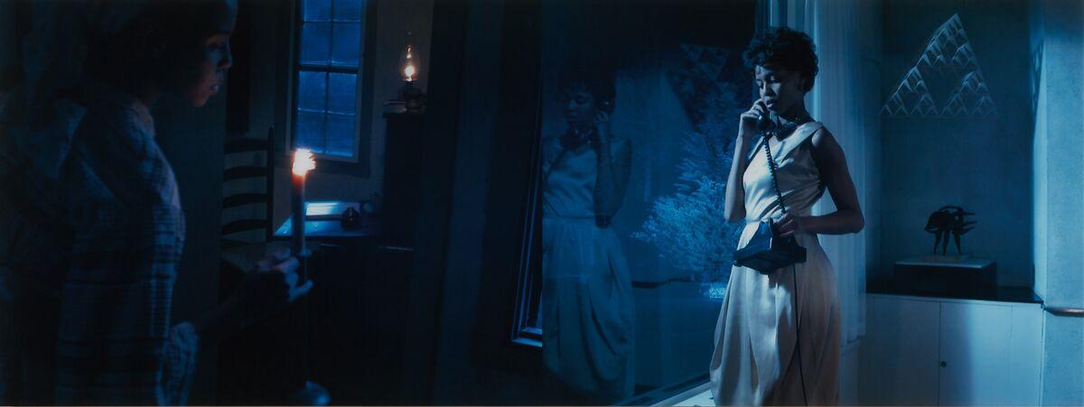 Lorna Simpson, Corridor (Night), 2003. Courtesy of Phillips.