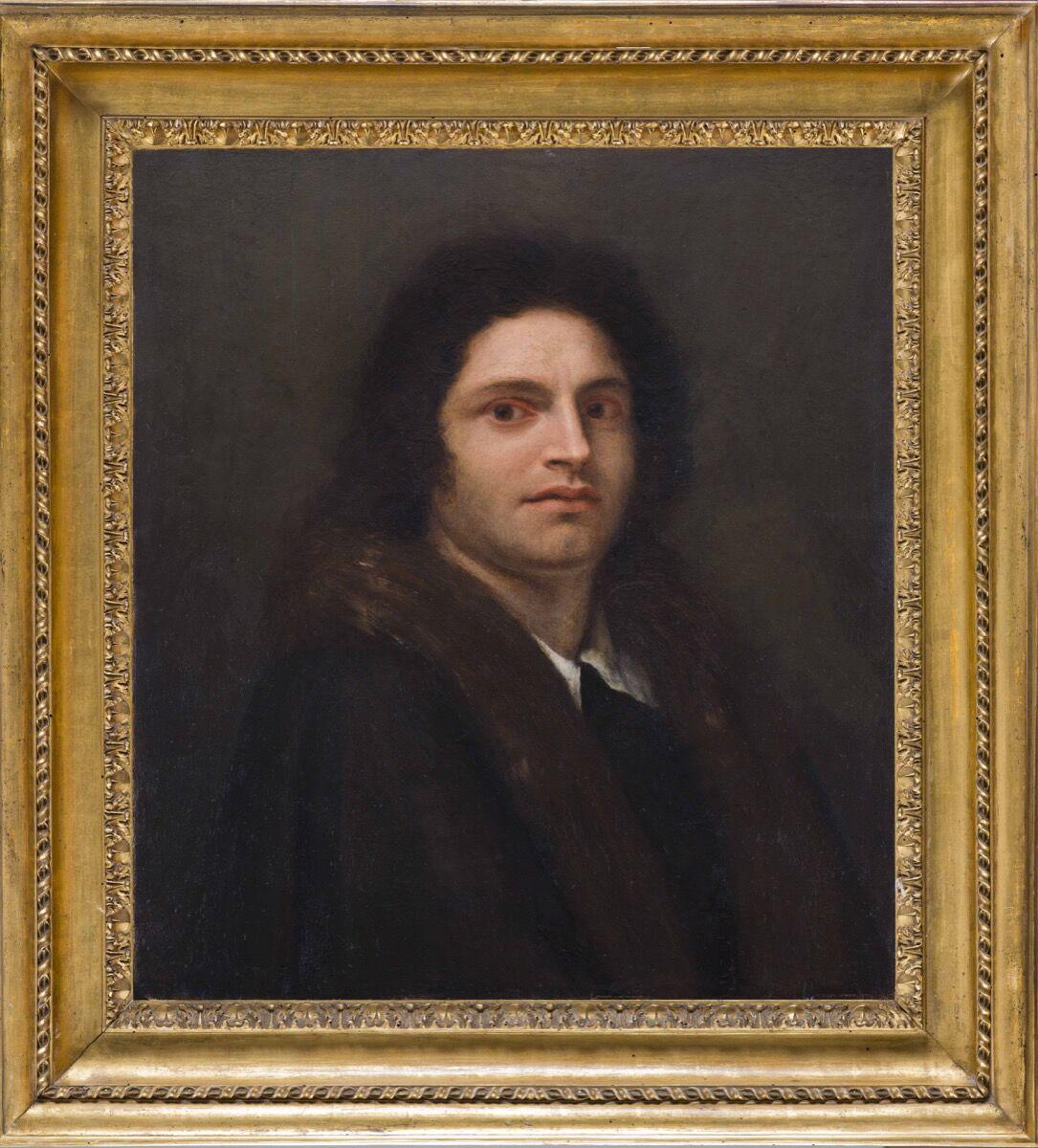 Antonio Canova, Self-Portrait of Giorgione, 1792. Courtesy of Antonacci Lapiccirella Fine Art.