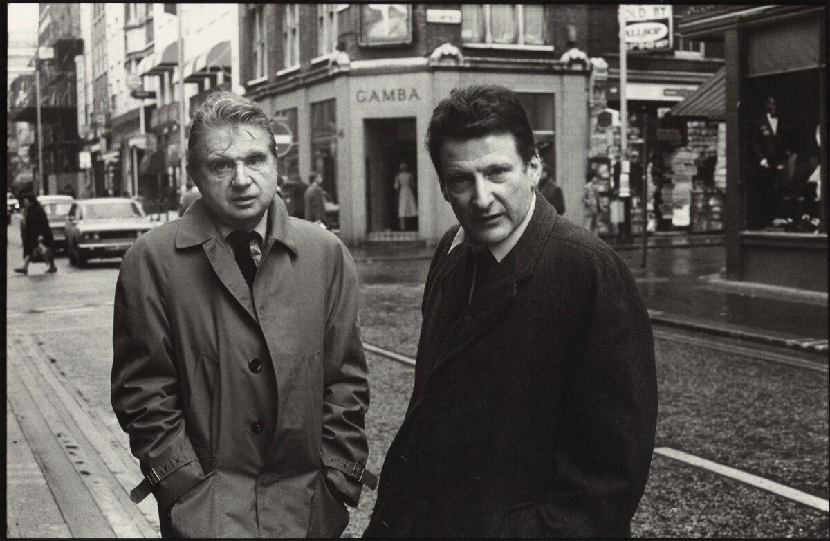 Harry Diamond, Francis Bacon; Lucian Freud, 1974. ©National Portrait Gallery,London.