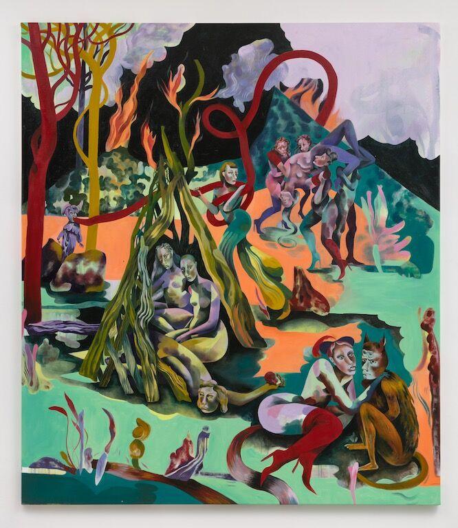Jessie Makinson, The Chief Leaf, 2018. © Jessie Makinson. Courtesy of the artist and Fabian Lang, Zurich.