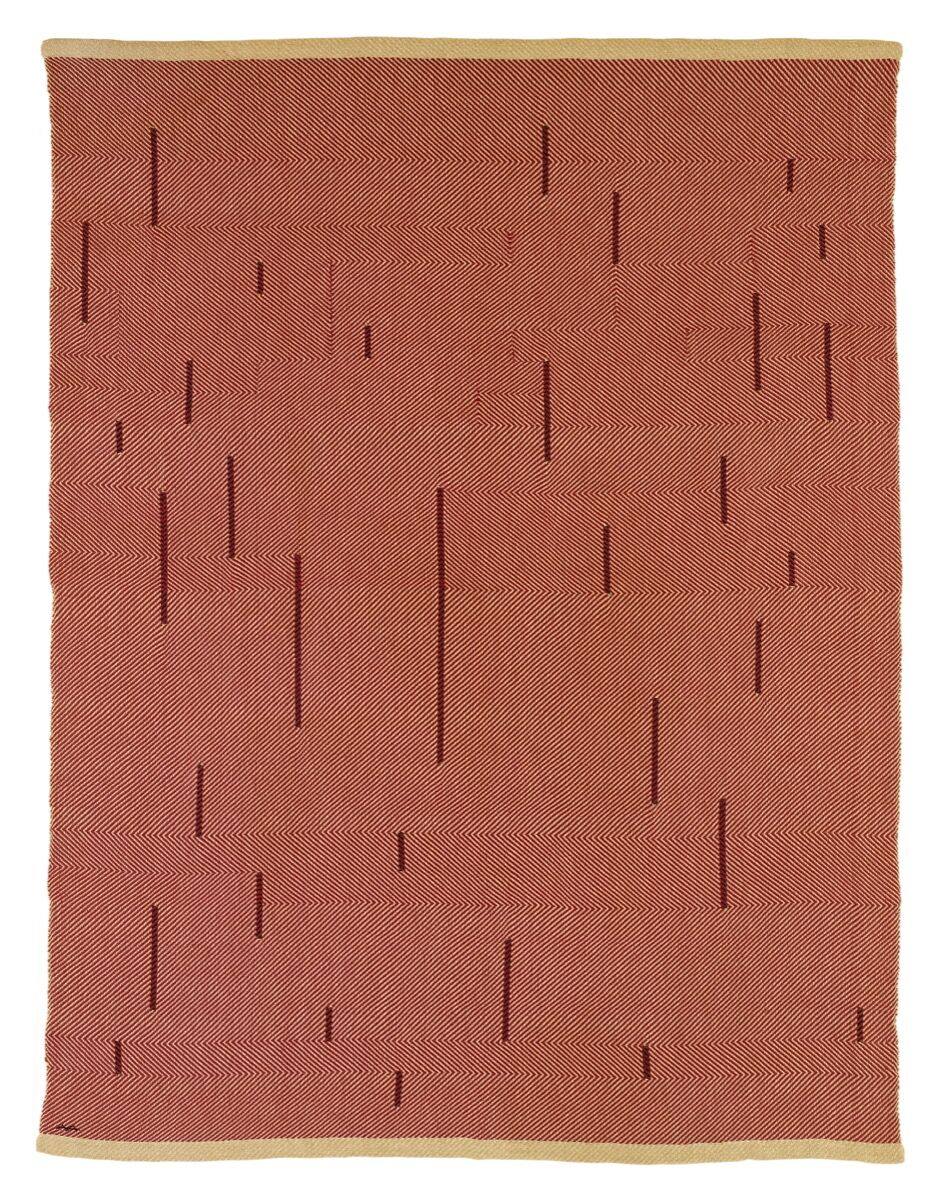 Anni Albers, With Verticals, 1946. Artists Rights Society (ARS), New York. Courtesy of The Josef and Anni Albers Foundation and David Zwirner.