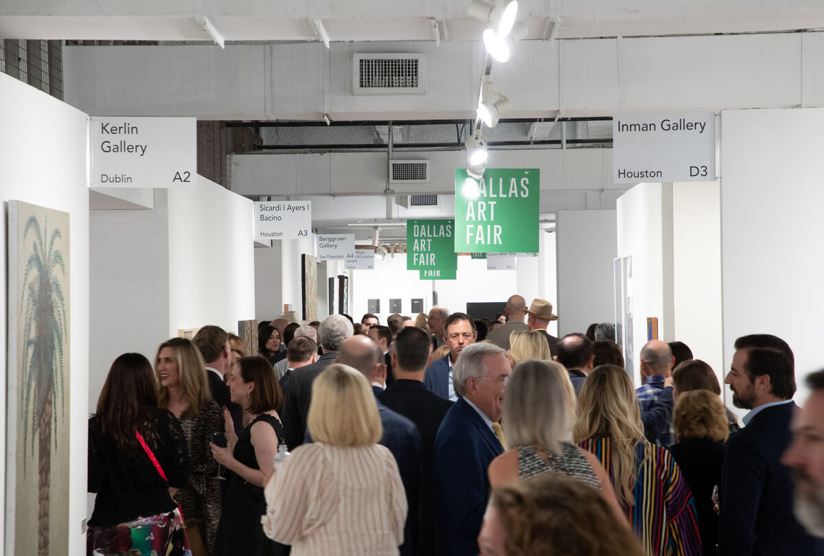 Dallas Art Fair Preview, 2019. Photo by Exploredinary. Courtesy of the Dallas Art Fair.