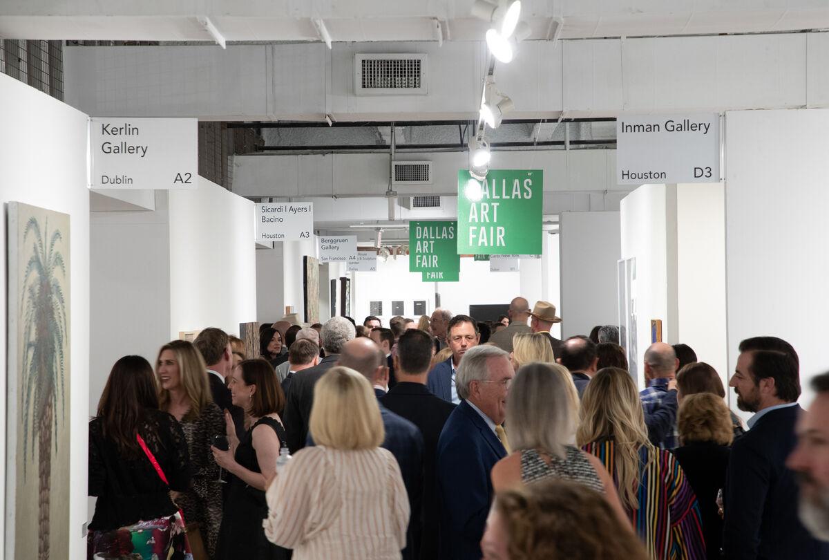 Dallas Art Fair Preview, 2019. Photo by Exploredinary. Courtesy of the Dallas Art Fair.