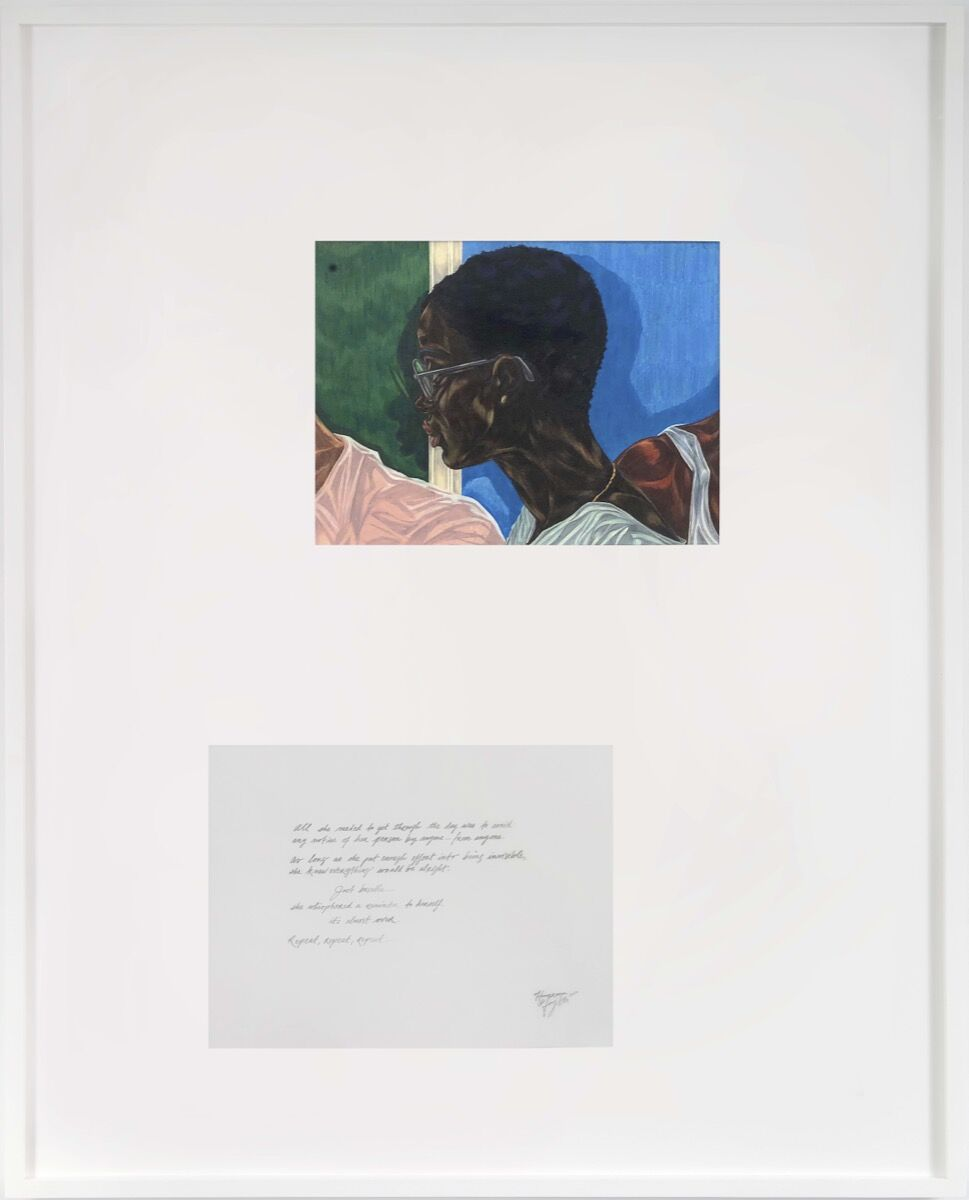 Toyin Ojih Odutola, Homeroom, 2020. © Toyin Ojih Odutola. Courtesy of the artist and Jack Shainman Gallery, New York.