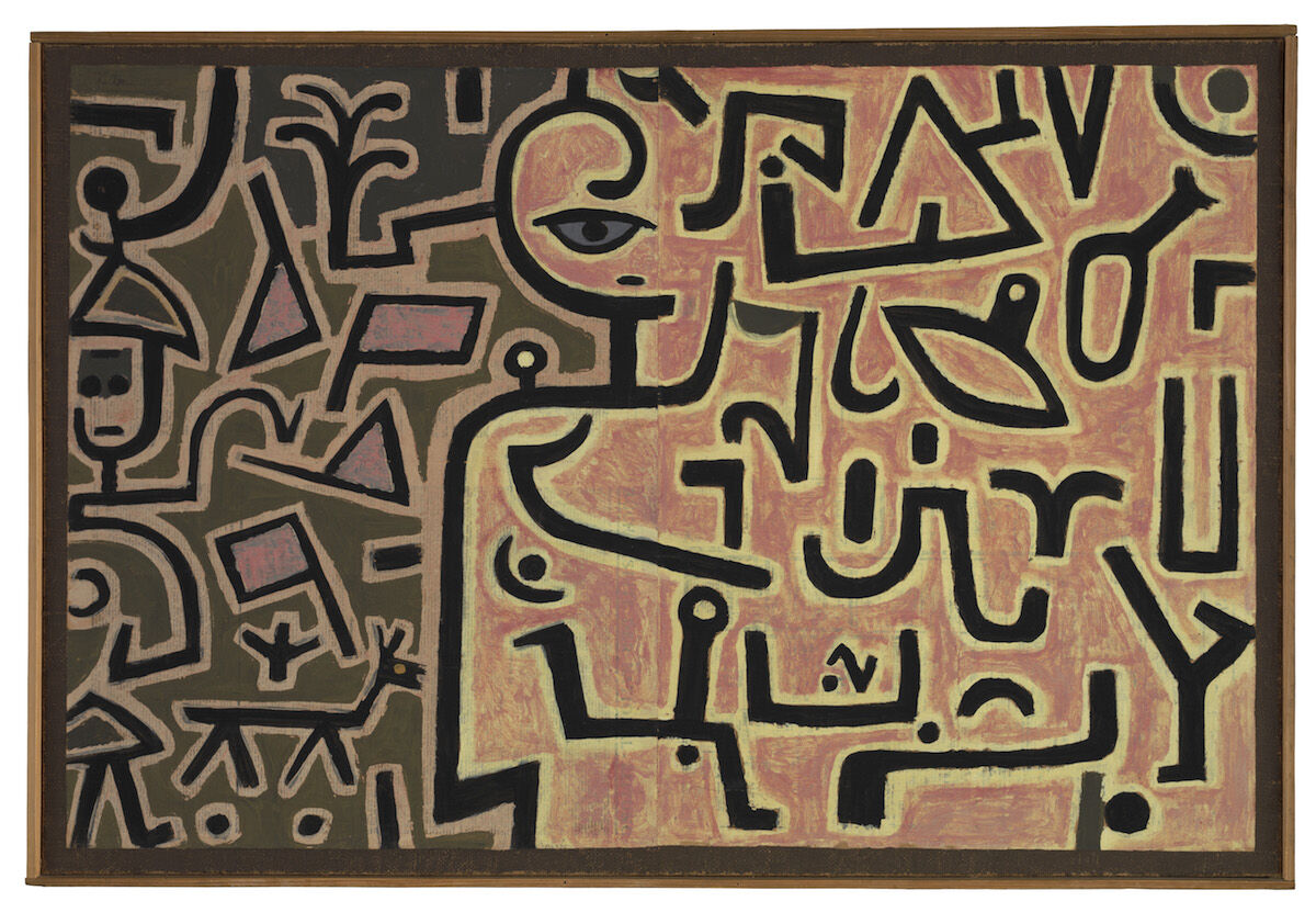 Paul Klee, Wachstum regt sich (Growth stirs), 1938, private collection, Switzerland, deposited in the Zentrum Paul Klee, Bern. Courtesy Zentrum Paul Klee, Bern Image archive, © 2019 Artists Rights Society (ARS), New York.