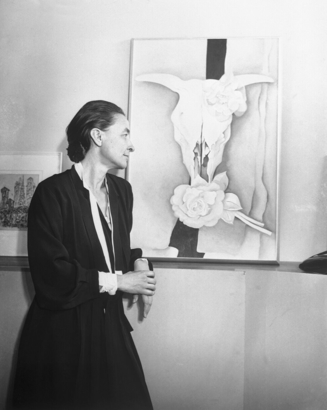Portrait of Georgia O'Keeffe by Bettmann via Getty Images.