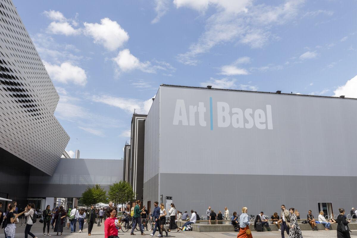 The 2019 edition of Art Basel in Basel, Switzerland. Courtesy Art Basel.