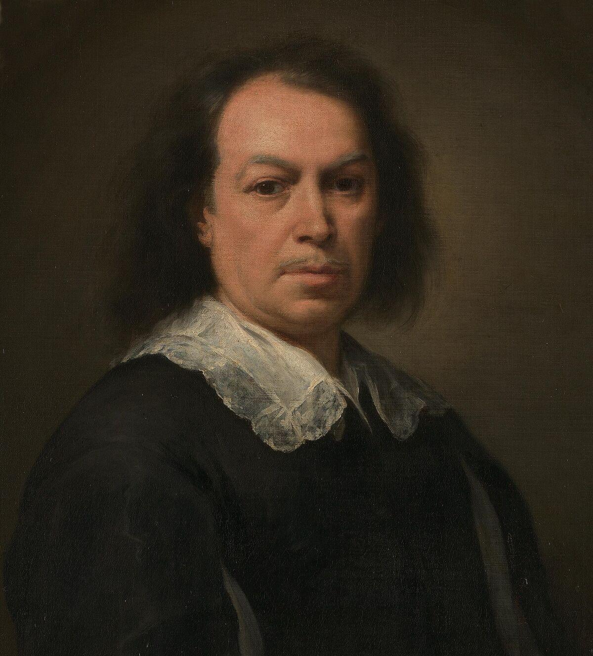Bartolomé Esteban Murillo, Self-portrait, Portrait of Bartolomé Esteban Murillo, 1668-1670. Image via Wikimedia Commons.