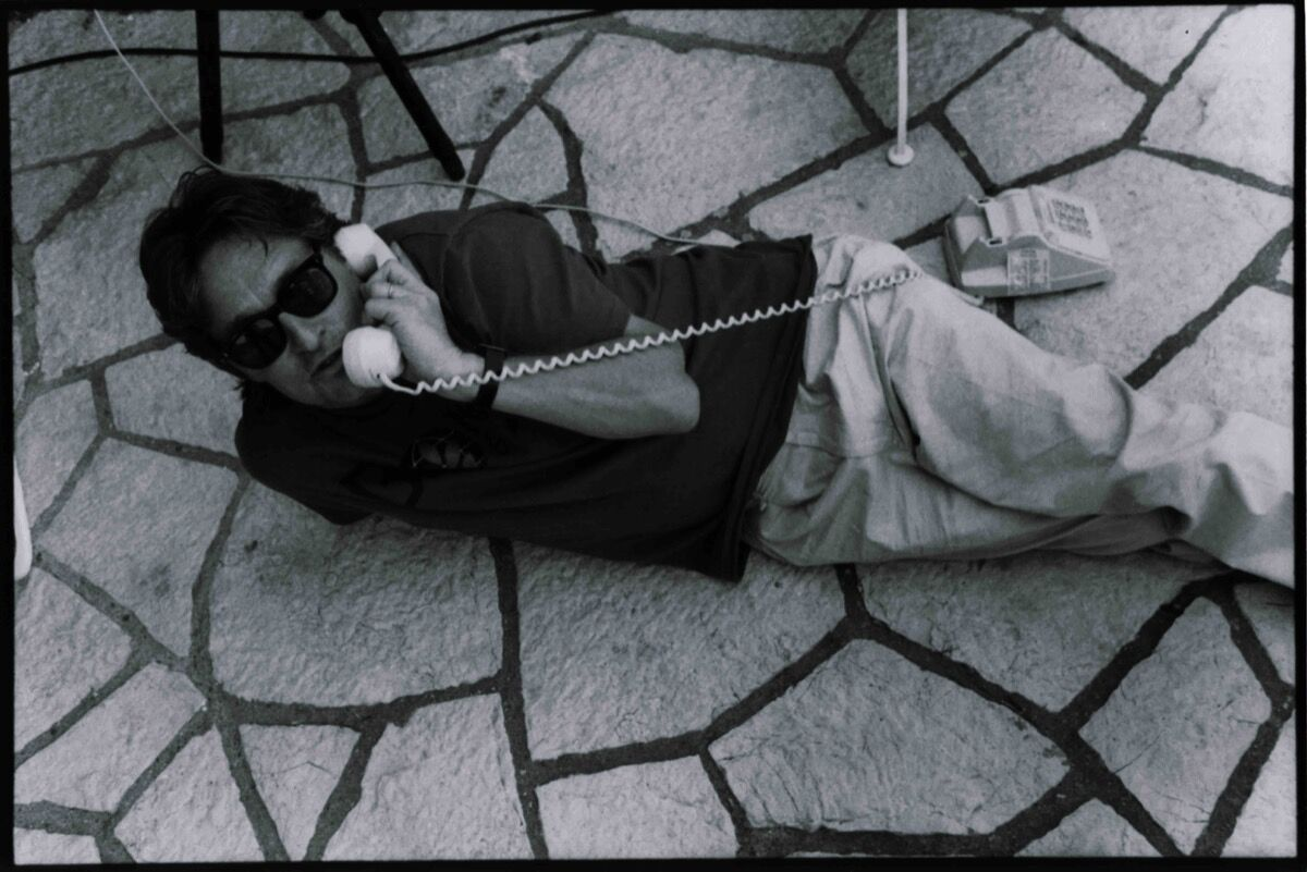 Jean Pigozzi, Michael Douglas, 1990. Courtesy of Galerie Gmurzynska.