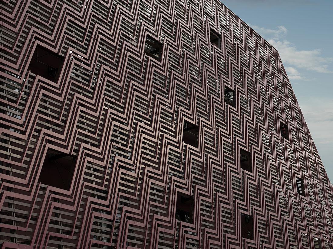 Exterior, Aïshti Foundation, Beirut.© Guillaume Ziccarelli / Aïshti Foundation