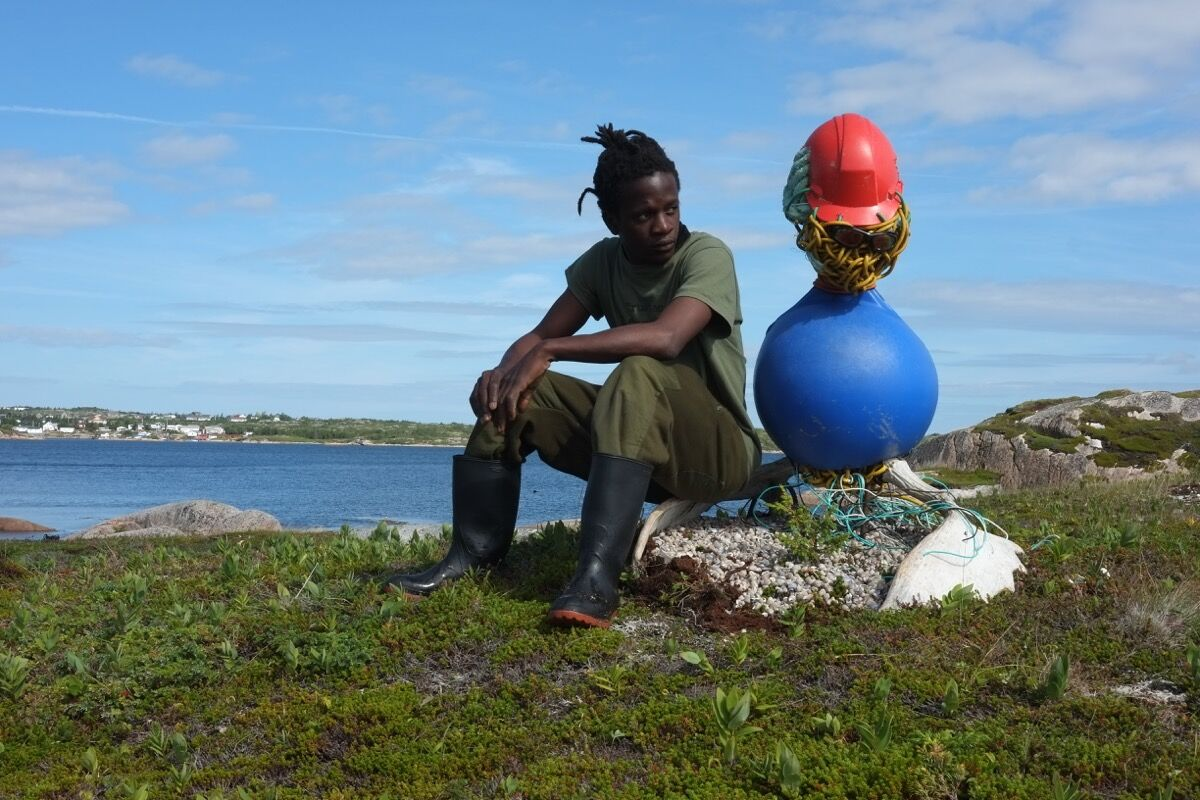 Terrence Musekiwa, God of the Ocean, Newfoundland, 2016. © Catinca Tabacaru and CTG Collective.