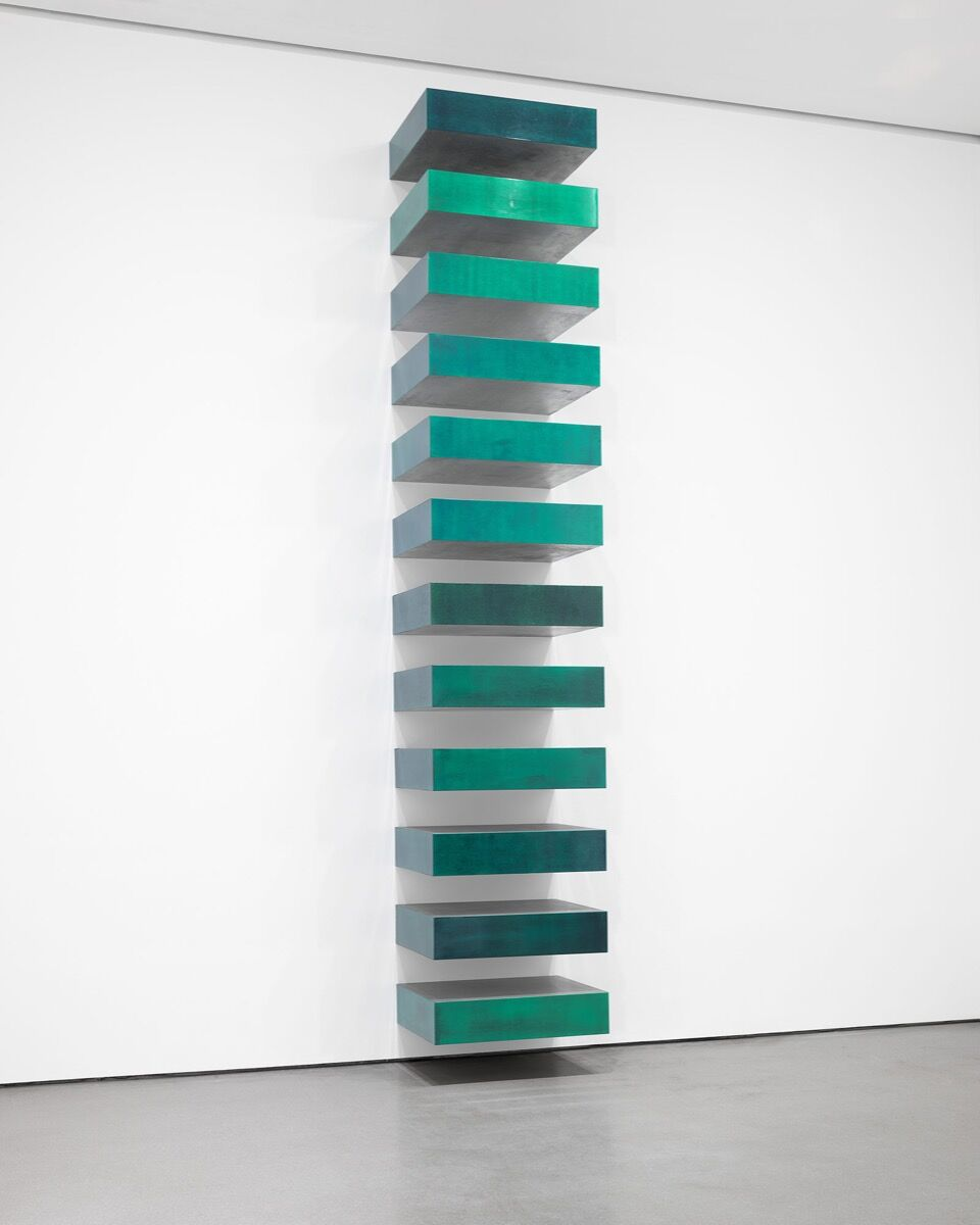 Donald Judd, Untitled, 1967. © 2020 Judd Foundation / Artists Rights Society (ARS), New York. Courtesy of the Museum of Modern Art.