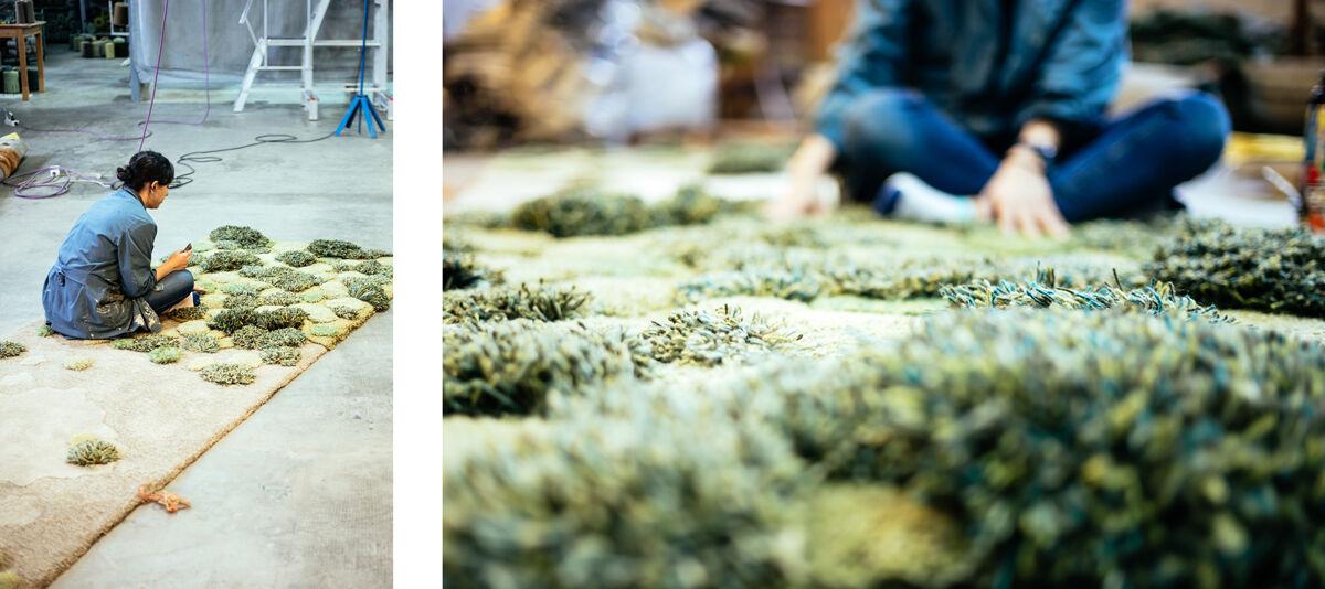 Alexandra Kehayoglou in her Buenos Aires studio. Photos by Camilla Blousson at Martin Rietti studio.