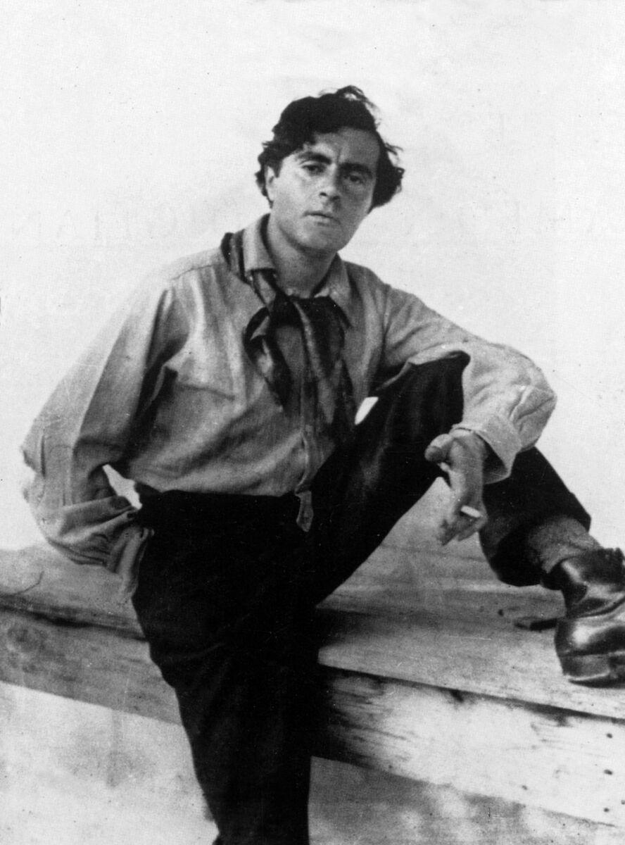 Amedeo Modigliani, c. 1912. Image provided by PVDE/Bridgeman Images, New York. Courtesy of the Jewish Museum.