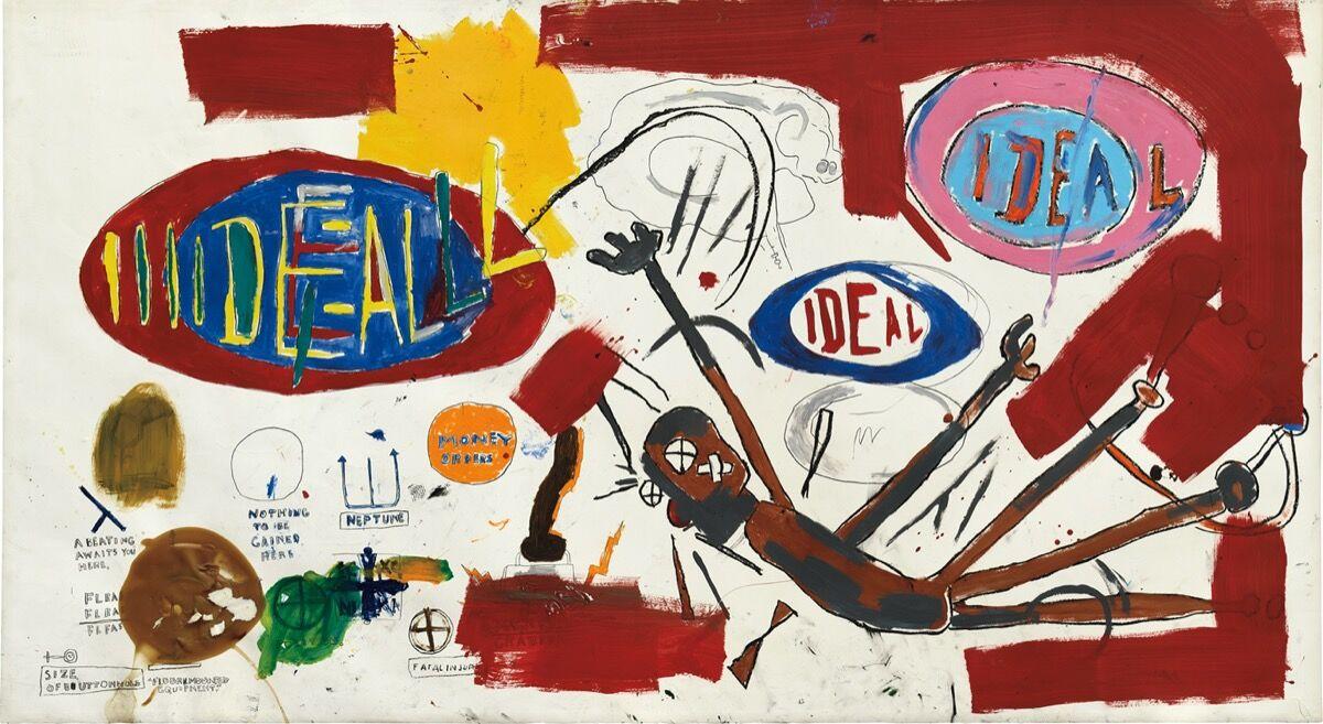 Jean-Michel Basquiat, Victor 25448, 1987. Courtesy of Phillips.