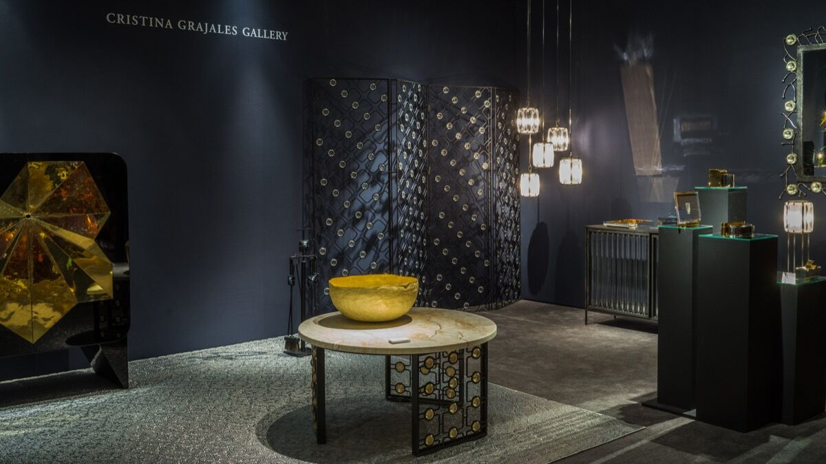 Installation view of Cristina Grajales Gallery's booth at The Salon Art + Design, 2016. Photo courtesy of The Salon Art + Design.