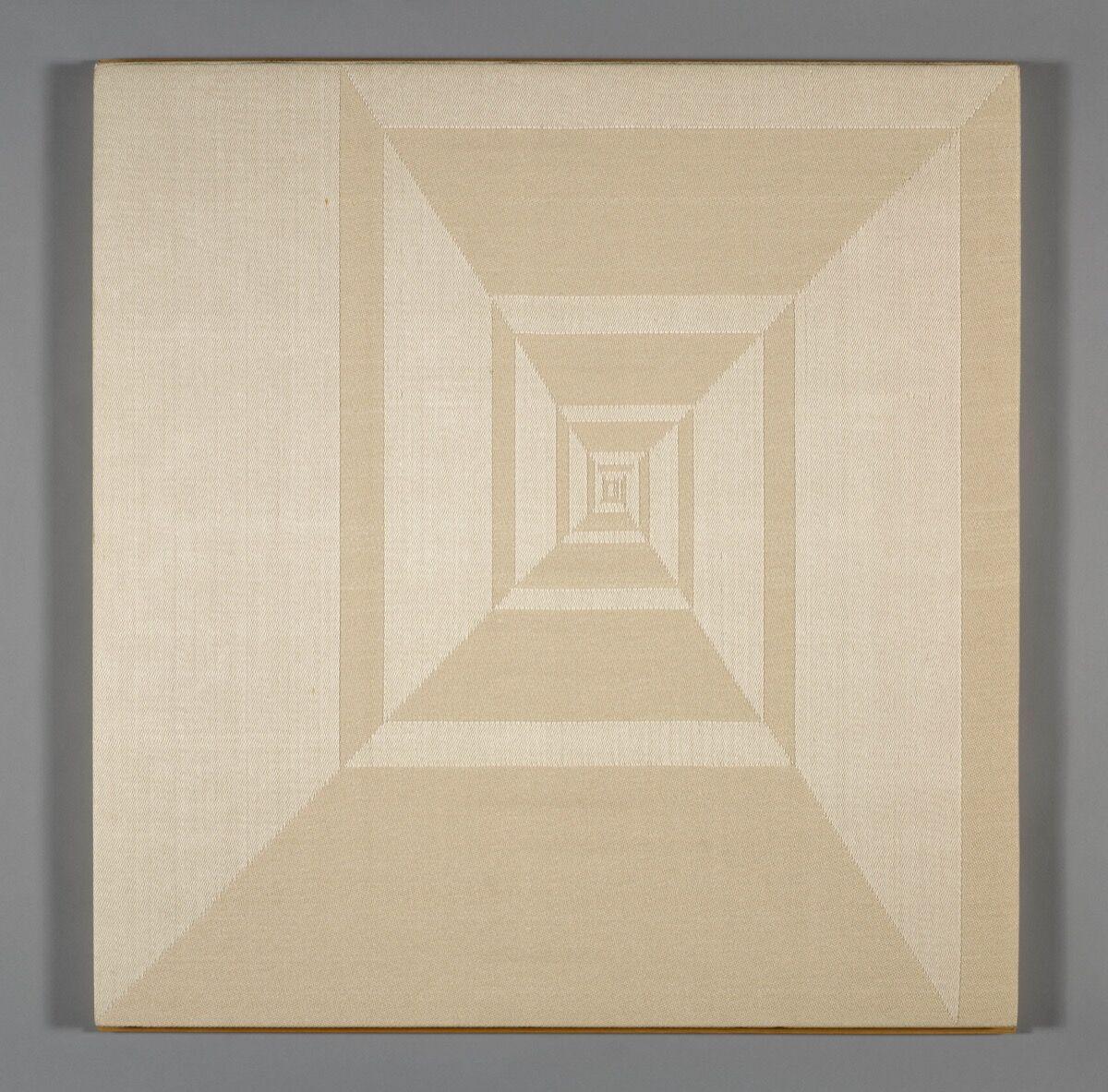 Ethel Stein, White Pinwheel, 1990. © Ethel Stein. Courtesy of the Art Institute of Chicago.