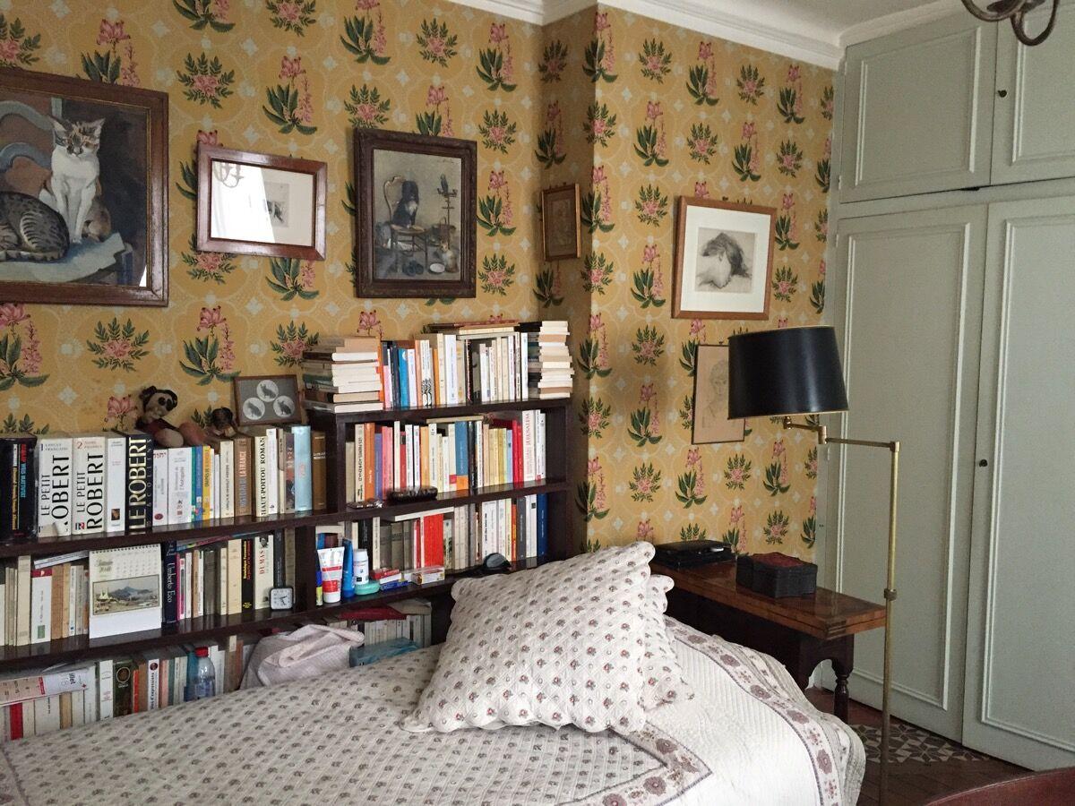 Bedroom at 27 rue de Fleurus. Courtesy of Maira Kalman.