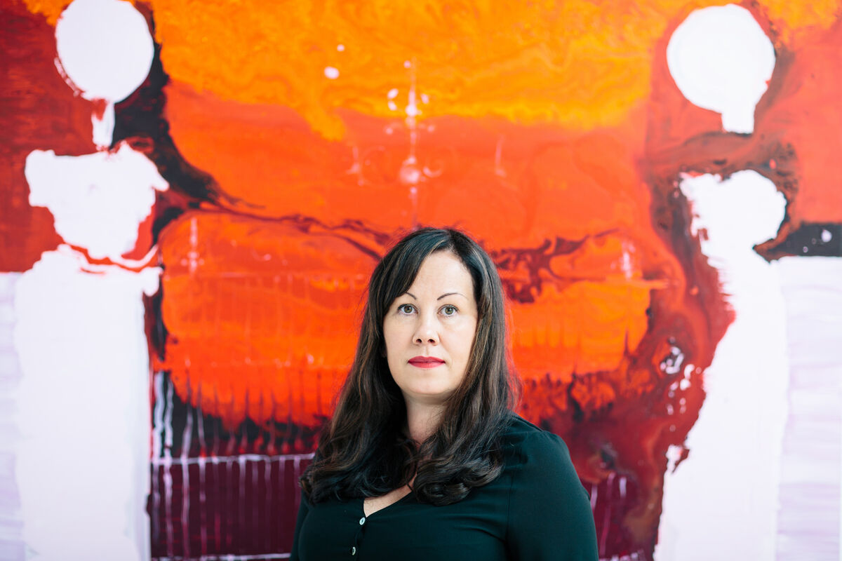 From Ireland's Wicklow Mountains, Genieve Figgis Paints Dark Narratives of Previous Worlds