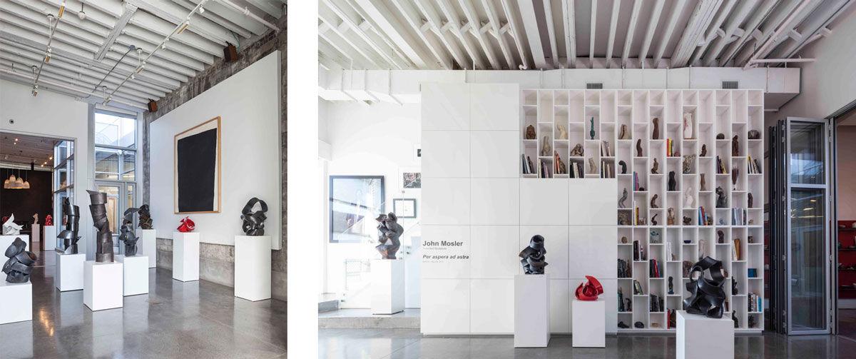 John Mosler's Brooklyn studio. © Barkow Photo.