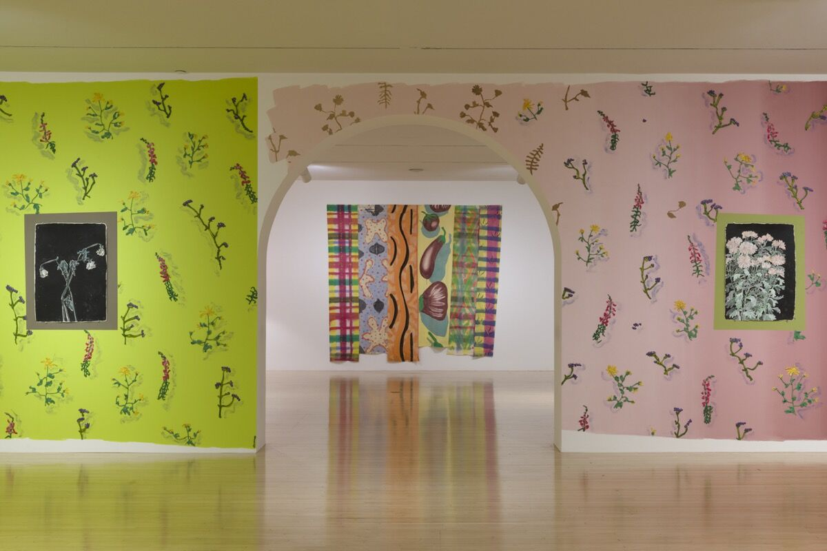 "Installation view of ""With Pleasure: Pattern and Decoration in American Art 1972–1985"", at MOCA Grand Avenue, October 27, 2019 – May 11, 2020. Photo by Jeff Mclane. Courtesy of The Museum of Contemporary Art (MOCA)."