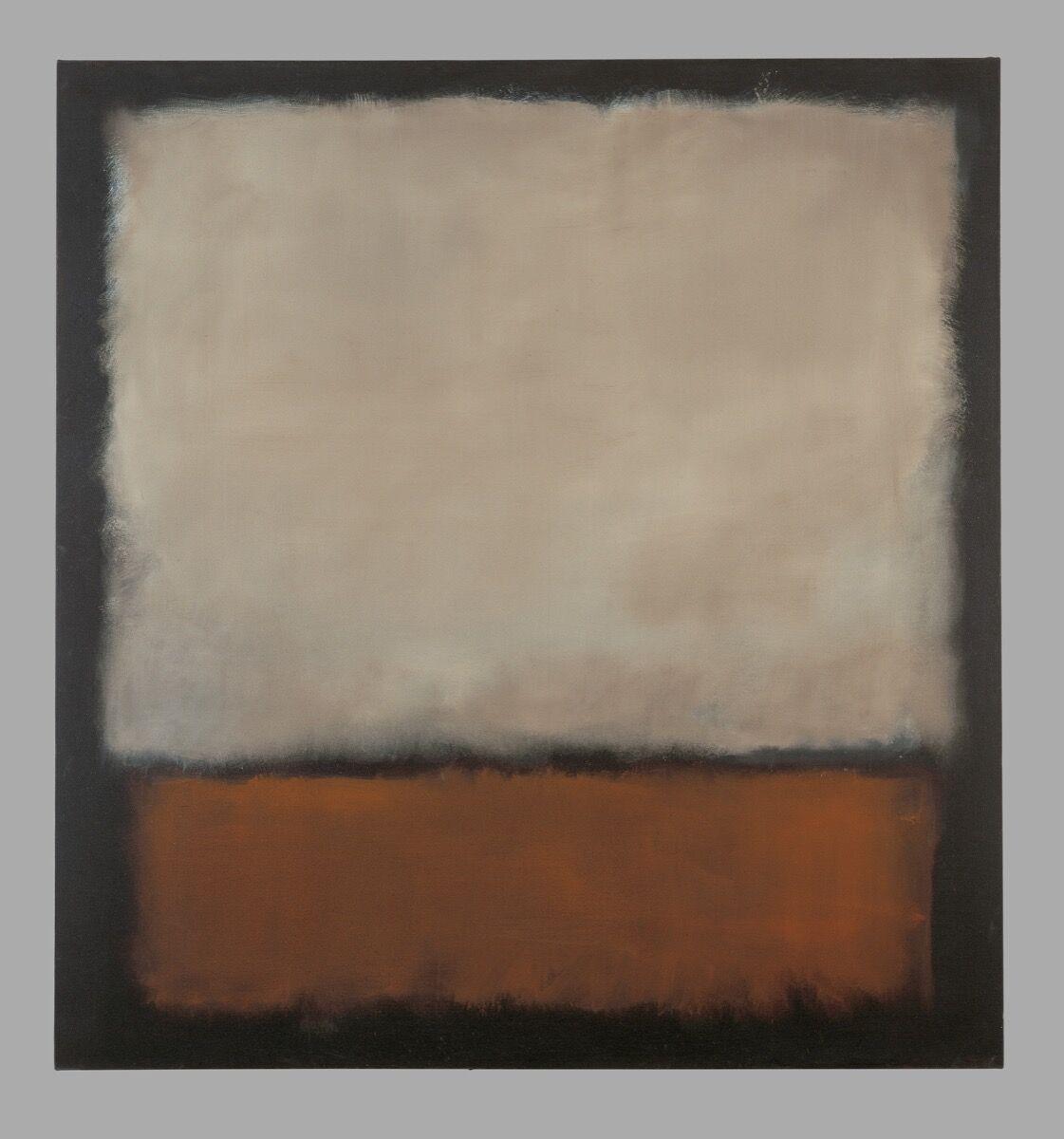 Mark Rothko, No. 7 (Dark Brown, Gray, Orange), 1963. © 1998 Kate Rothko Prizel & Christopher Rothko / Bildrecht, Vienna, 2019. Photo © Kunstmuseum Bern.