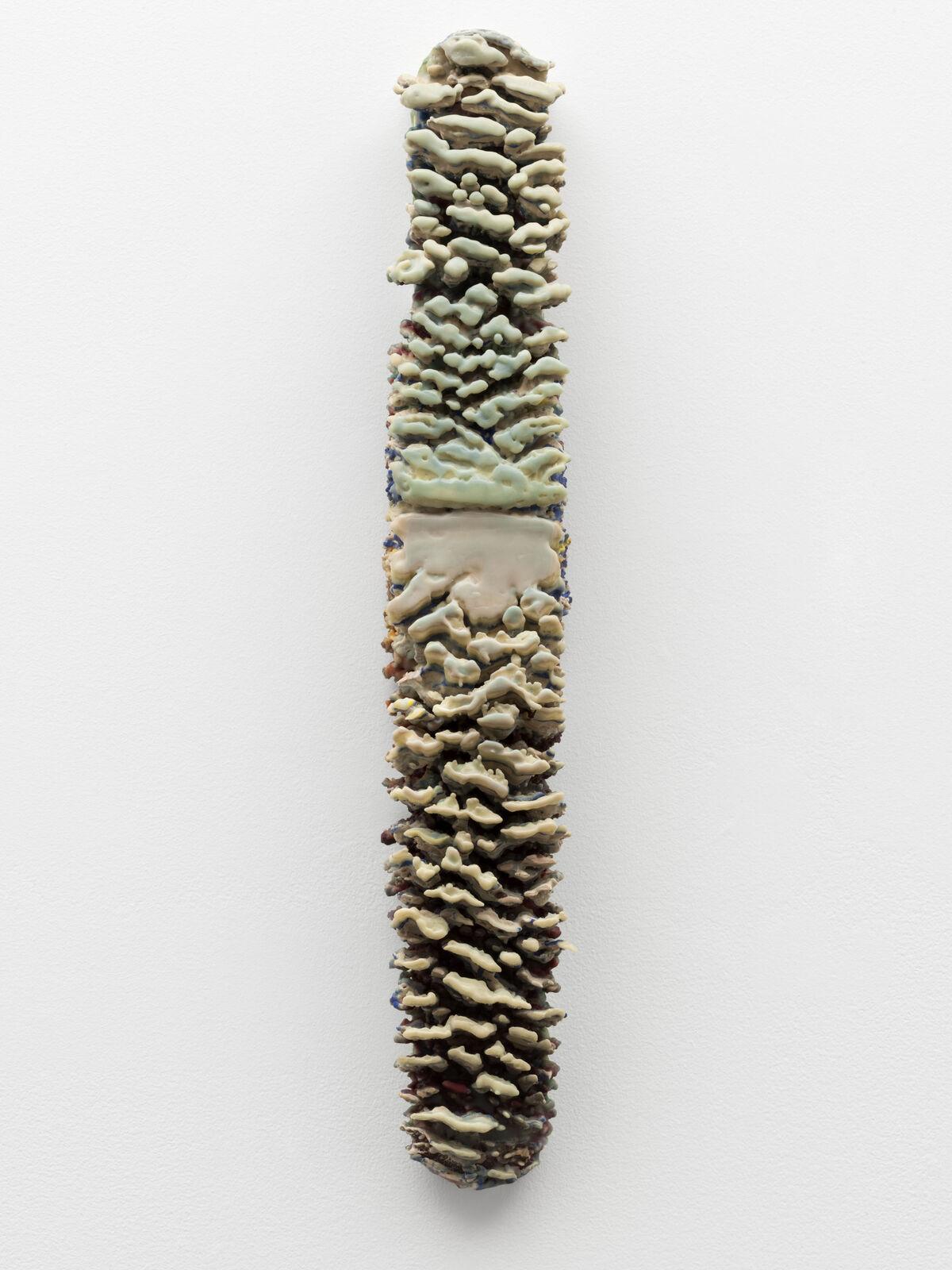 Lynda Benglis, Embryo II, 1967. Courtesy of the Museum of Modern Art, New York.
