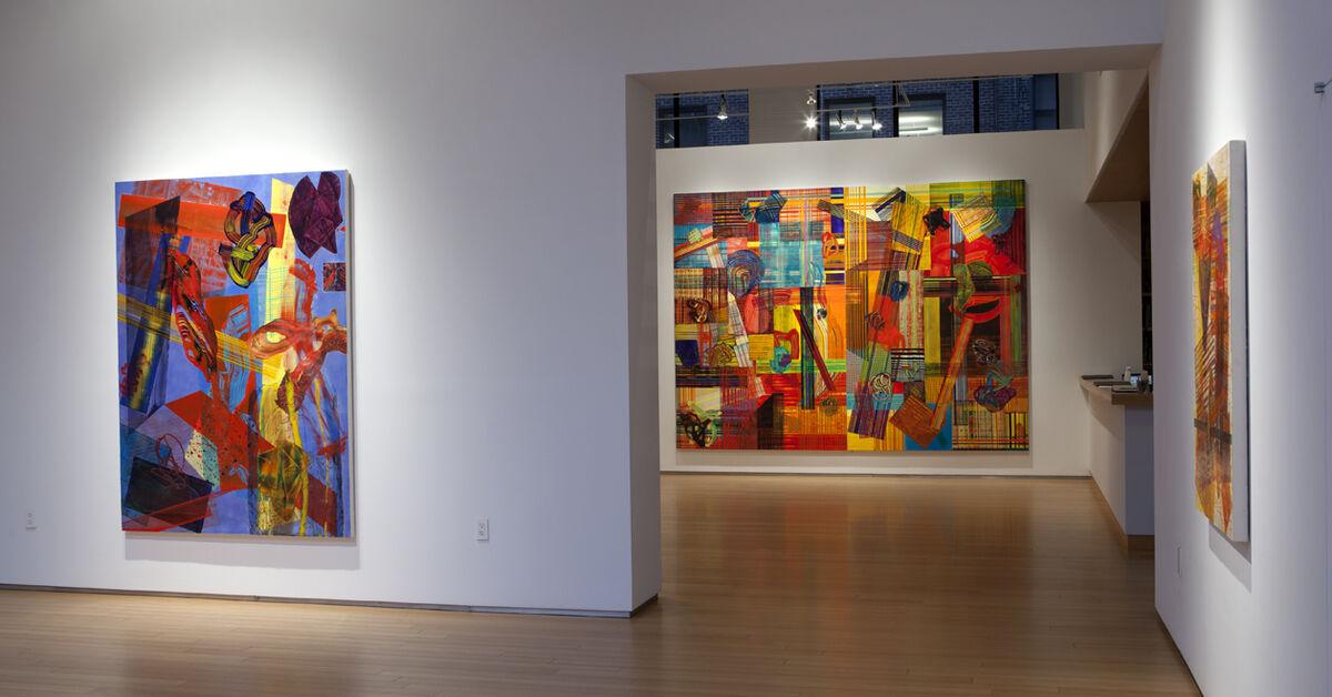 "Installation view of ""Next,"" at Nancy Hoffman Gallery, New York. Courtesy Nancy Hoffman Gallery and the artist."