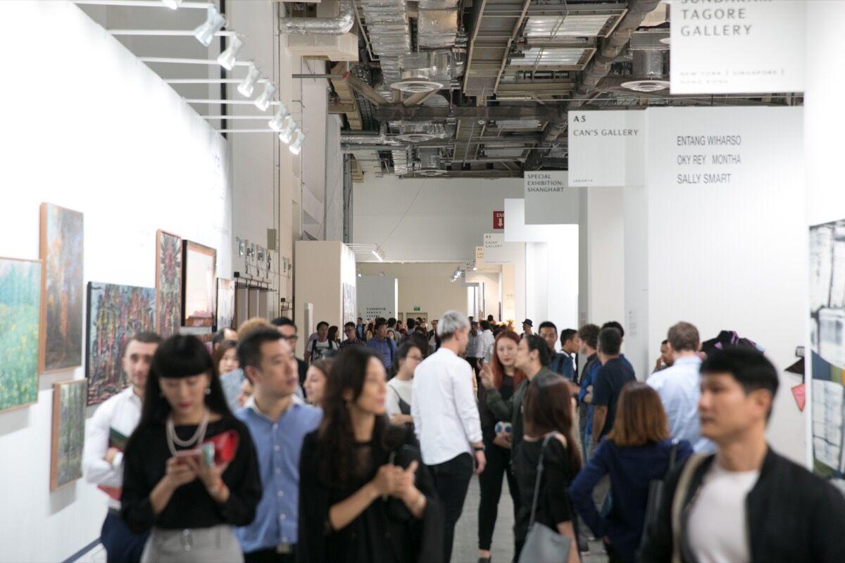 Photo courtesy of Art Stage Singapore.