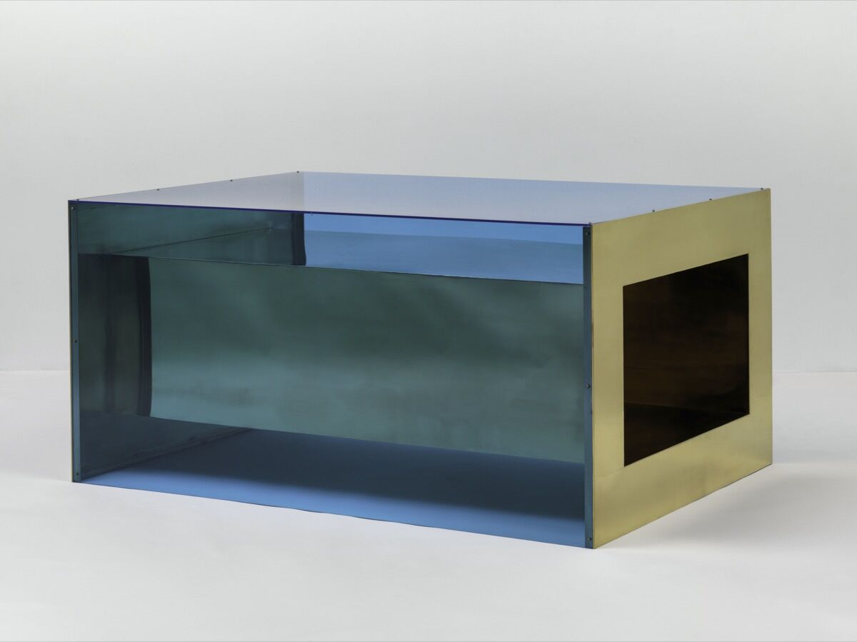 Donald Judd, Untitled, 1973. © 2020 Judd Foundation / Artists Rights Society (ARS), New York. Courtesy of Solomon R. Guggenheim Museum, New York; and The Museum of Modern Art, New York.