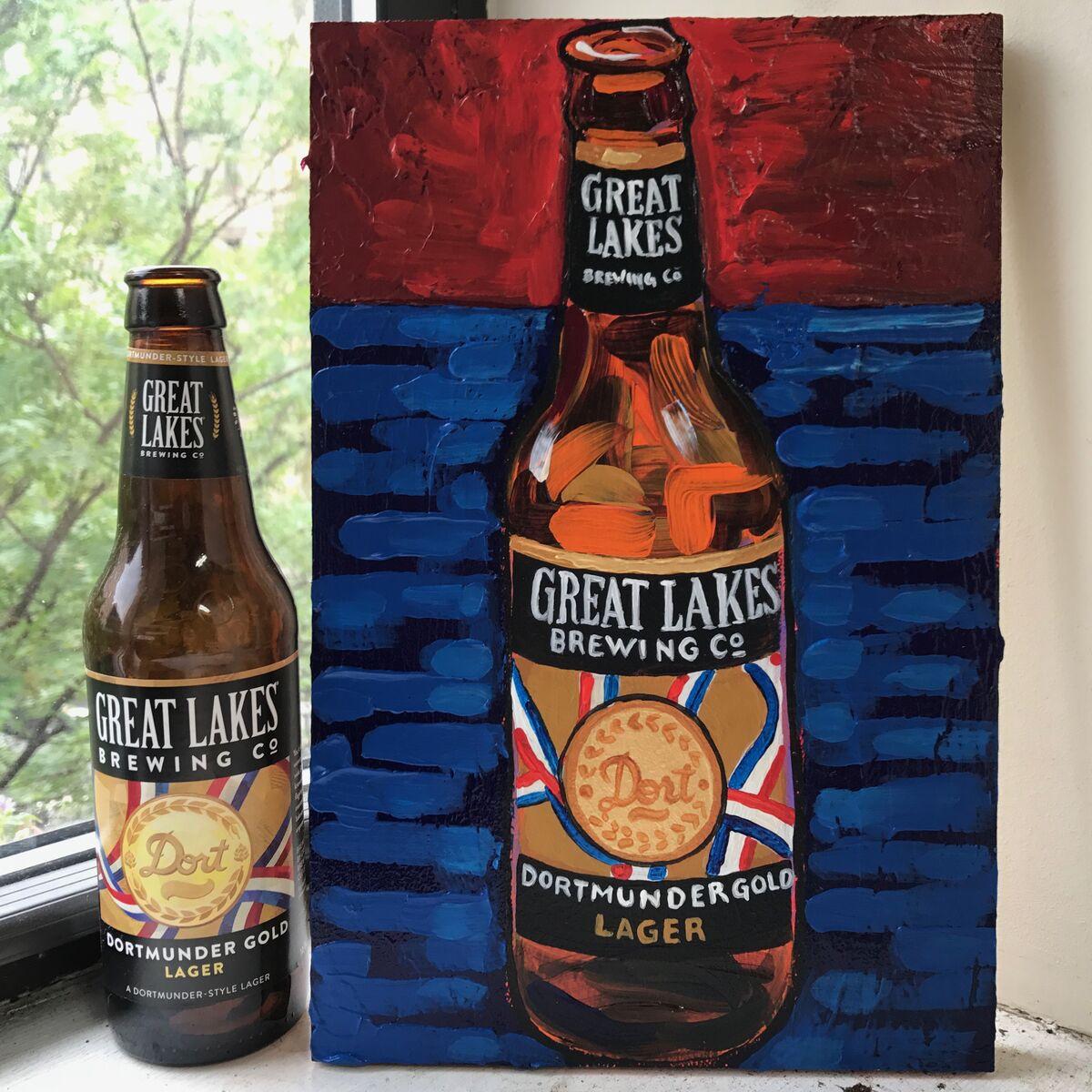 Tom Sanford, 88 - Great Lakes Lager, 2017. Courtesy of the artist.